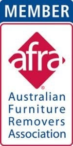 afra member australian furniture removalists