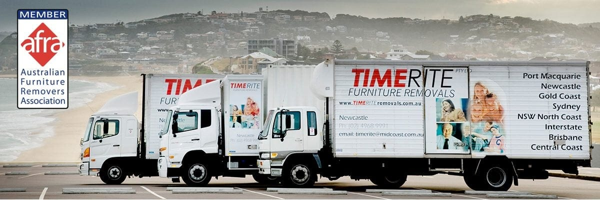 Photo of TimeRite Removals trucks