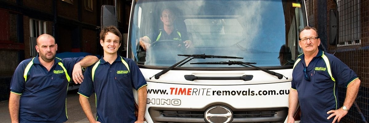 TimeRite Removals team